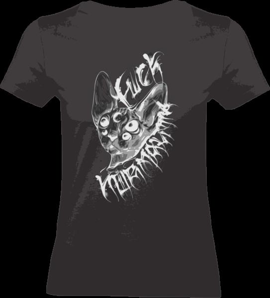 "Shirt ""Fuck Normality"" L Black"