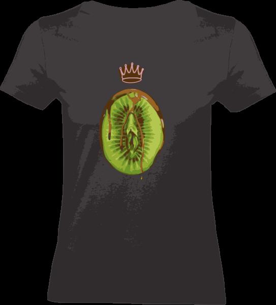 "Shirt ""Healthy Eating"" XS Black"