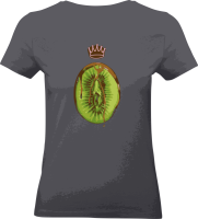 "Shirt ""Healthy Eating"" XS Dark Grey"