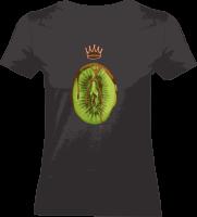 "Shirt ""Healty Eating"" S schwarz"