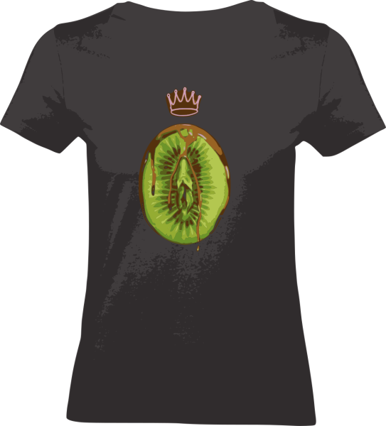 "Shirt ""Healty Eating"" M schwarz"