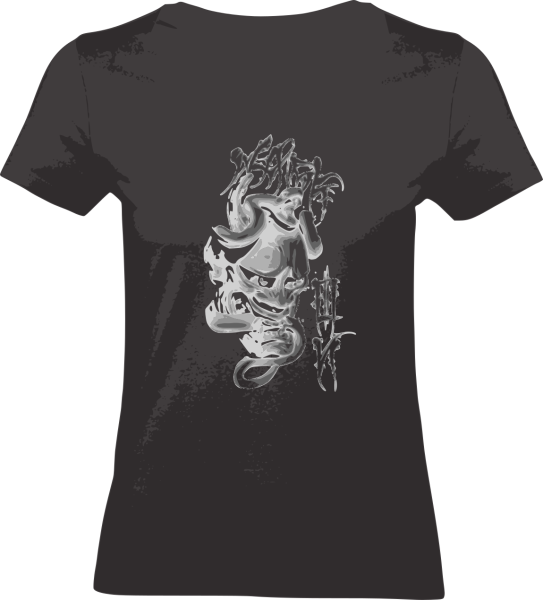 "Shirt ""The Mask"" S schwarz"