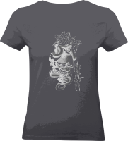"Shirt ""The Mask"" M grau"