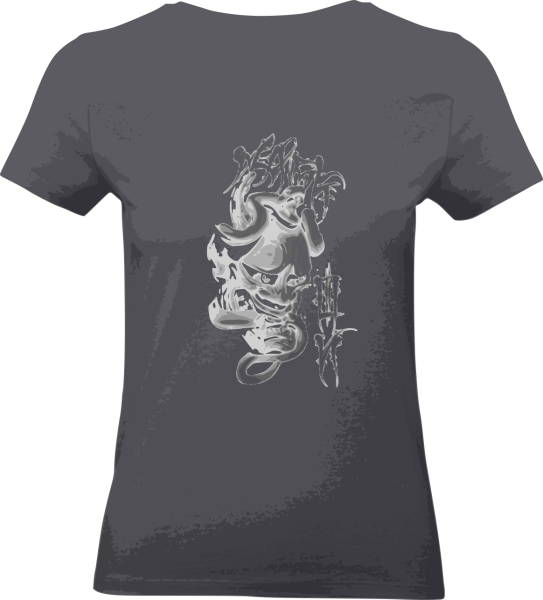 "Shirt ""The Mask"" L grau"