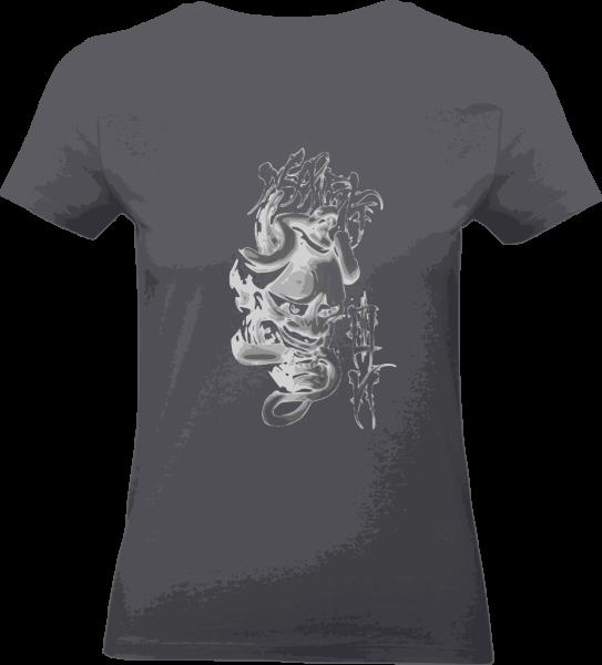 "Shirt ""The Mask"" 2XL grau"