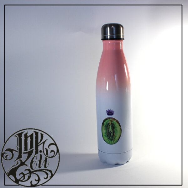"""Trinkflasche """"Healthy Eating"""" rose"""
