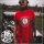 Paul Jazzman - College Unique Shirt - Rundhals M Shirt: rot / Print: weiß