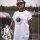Paul Jazzman - College Unique Shirt - Rundhals XL Shirt: weiß / Print: schwarz